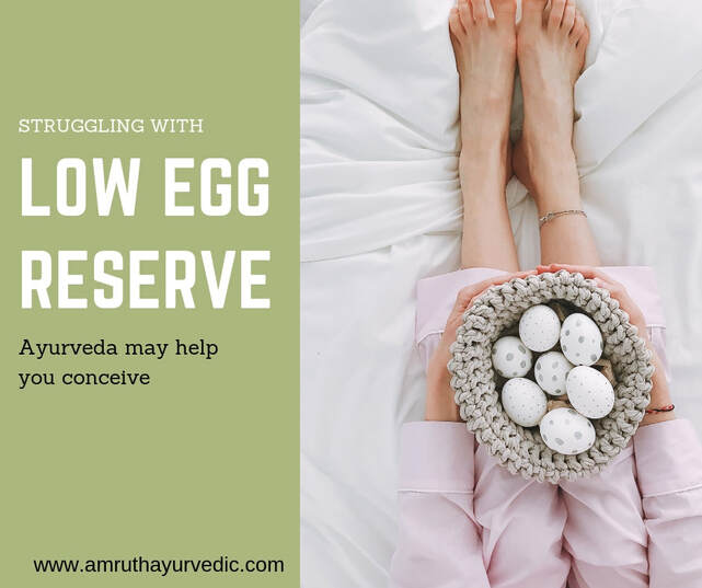 Ayurvedic treatment to fall pregnant with low AMH , avoid donor eggs